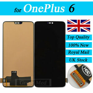 For OnePlus 6 Full LCD Display Touch Screen Digitizer Assembly Replacement UK