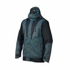 OAKLEY BANFIELD Jacket Breathable Waterproof Mens S SM RECCO SNOWBOARD SKI BLUE