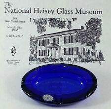 Sleeping Fox ashtray in dark blue for Newark, Ohio