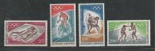 GABON # C70-73 MNH SUMMER OLYMPICS MEXICO CITY 1968
