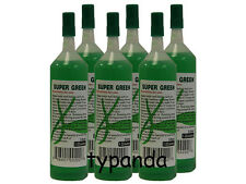 6 Bottles of Super Green Green Lucky Bamboo Plant Food