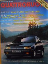 Quattroruote 398 1988 - Alfa 75 iniezione e turbo diesel - Renault 5  [Q41]