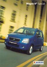 Suzuki Wagon R+ Special 1.3 2002-03 UK Market Foldout Sales Brochure