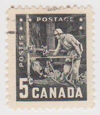 (CA200) 1959 CANADA 5c Block Mining ow499