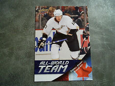 11-12 UD ALL WORLD TEAM INSERT CARD #5 COREY PERRY