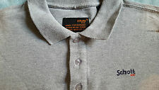 SCHOTT NYC Man's Polo SHirt Size: Small VERY GOOD Condition
