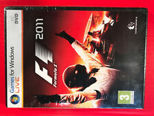 F1 Formula One 2011 NEW Windows PC DVD Codemasters Software5024866345575race sim