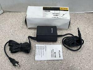 *New* *Genuine* Fluke BC190/813  Power Supply Adapter For Scopemeter 190 Series