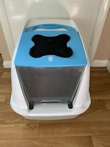 Catit Hooded Cat Litter Tray With Filter