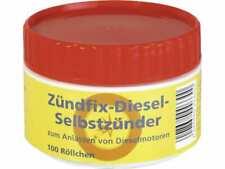 Zündfix Dieselselbstzünder 100 St. Lunten Traktor Schlepper 4,5,6,7,8 mm Dose