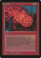 Fireball  - BETA Edition  - Old School - MTG Magic The Gathering