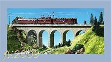 * Kibri scala N 37663 Ponte viadotto Ravenna 34,8 cm. Nuovo OVP