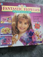 Fantastic Flowers' Flower Making Kit  vintage Childrens Crafts Rare vintage