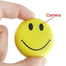 Mini Spy Camera Smile Face Hidden Camera Cam Video Recorder Covert Camcorder Cam