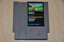 Nintendo Nes Gioco modulo-Golf-European versione