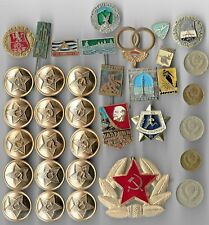 Rare Old LENIN Medal Pin Badge COLD WAR Russia CCCP Coin Vintage Collection Lot