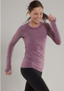 Lululemon Run: Womens Swiftly Tech Long Sleeve Top MSRP $68 Size 8 Muted Mauve