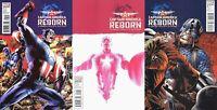 Captain America: Reborn #1-2 (2009-2010) Limited Series Marvel Comics - 3 Comics