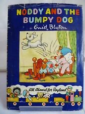 NODDY & THE BUMPY DOG 1957 by ENID BLYTON, ILLUSTRATED 1ST EDITION W/DUSTJACKET
