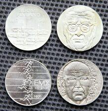 4 Silbermünzen Finnland 10 Markkaa Suomi Finland 1967 / 1970 / 1971 / 1973
