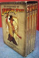 The Adventures of Indiana Jones DVD Box Set Harrison Ford 2003 Full Screen VGUC