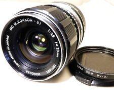 Minolta 28mm f2.5 MC Lens adapted to SONY E NEX 5R 5N ILCE a5100 a6300 cameras