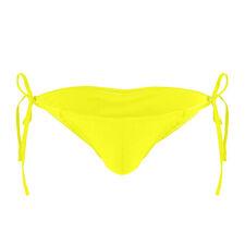 Men Adjustable Size Drawstring Ties Smooth Briefs Lingerie Low Rise Bikini Thong