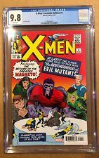 X-MEN # 4 FACSIMILE EDITION CGC 9.8. (1/21). FIRST BROTHERHOOD OF EVIL MUTANTS