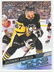 2020-21 Upper Deck Series 2 YOUNG GUNS RC Anthony Angello  #472