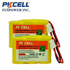 2 NiCd 2/3Aa*3 400mAh 3.6V Cordless Phone Battery for Vtech Bt-17333 Cs5121