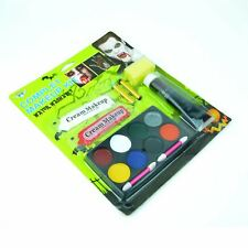 Halloween Complete Make up Kit Fancy Zombie Scary Face Paint Party Accessories