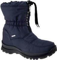 Romika ALASKA 118 Ladies Women Winter Snow Waterproof Zip Up Fleece Boots Ocean