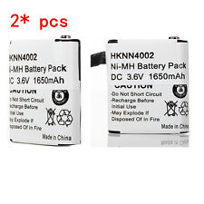2X 1650mAh Battery For MOTOROLA HKNN4002 HKNN4002B KEBT-071-B KEBT-071D