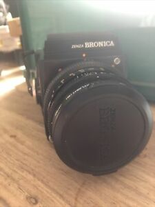 Zenza Bronica Camera With Lens