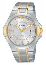 Pulsar Men's Three-Hand Date Stainless Steel - Two-Tone watch #PH9058X