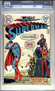 Superman #273 - HALO Graded 9.0 (VF/NM) - 1974 - Bronze Age
