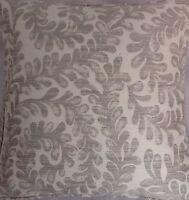 A 16 Inch Cushion Cover In Laura Ashley Berkeley Scroll Sable Fabric