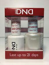 DND DAISY DUO UV GEL UV NAIL POLISH - BASE COAT AND TOP COAT 0.5 oz