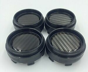 4x 60mm Alloy Wheel Center Hub Caps No Logo Compatible With Rays Volk Racing