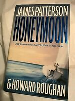 HONEYMOON  James Patterson   2005 First Edition 1st Printing  Thriller