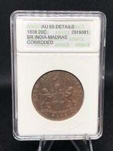 1808 20 cash East India Company AU Details ANACS