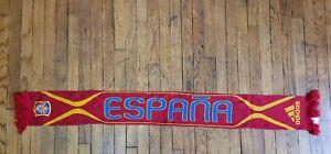 Adidas Spain Soccer Football Scarf