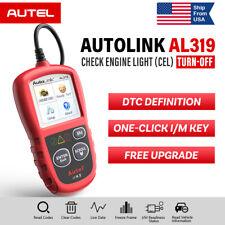Autel AL319 OBD2 EOBD Car Code Reader Diagnostic Tool Engine Check MIL I/M Key