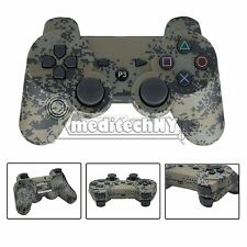 Sony PS3 Wireless Bluetooth Game Dualshock 3 Controller Remote-Urban Camouflage