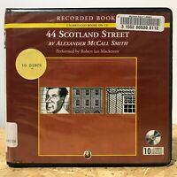 44 Scotland Street Ex Library 10 CD Unabridged Audiobook Free Ship McCall Smith