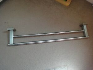 Stainless Steel double towel rail holder