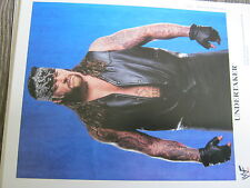 Undertaker WWE Original Promo Photo 8x10  WWF ohne Autogramm no Autograph