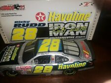 2002 Ricky Rudd Havoline Iron Man 656 Conservative Starts 1/24 Action Diecast
