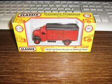 DIE-CAST - FORD THAMES ET6 PANEL VAN - NEWBOULD,S BREAD LIVERY  - 00 /1:76