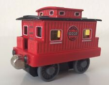 Thomas The Train Red Diecast SODOR Caboose Non-Talking Take Along Train